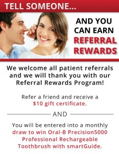 Guildford Family Dental Referral Promotion