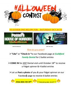 Guildford Family Dental Halloween Contest