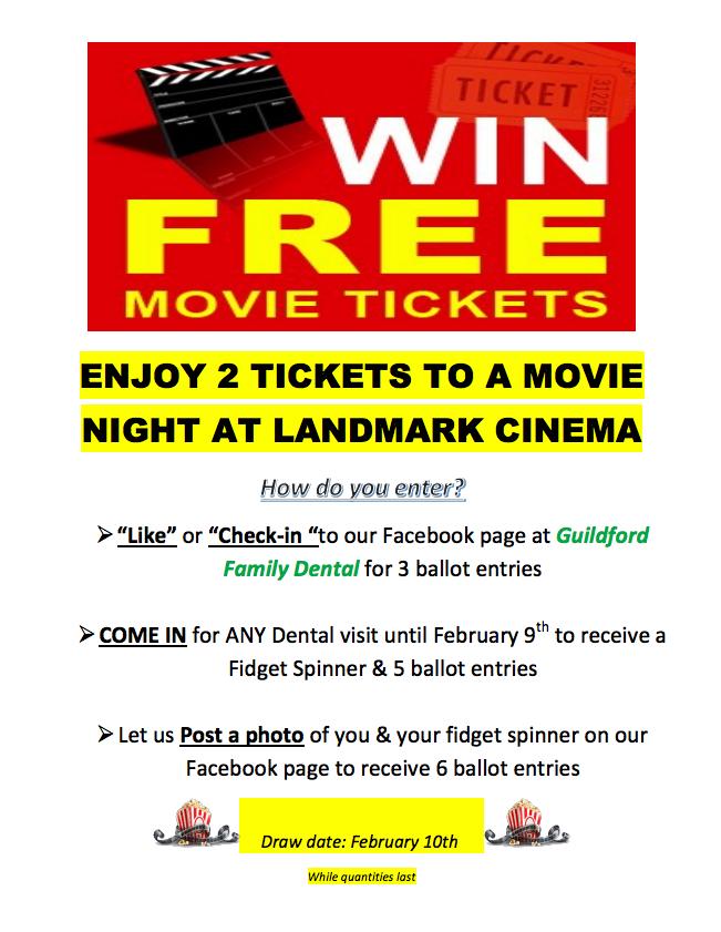 Movie Night Draw Feb 2018