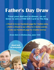 Father's Day Draw Poster