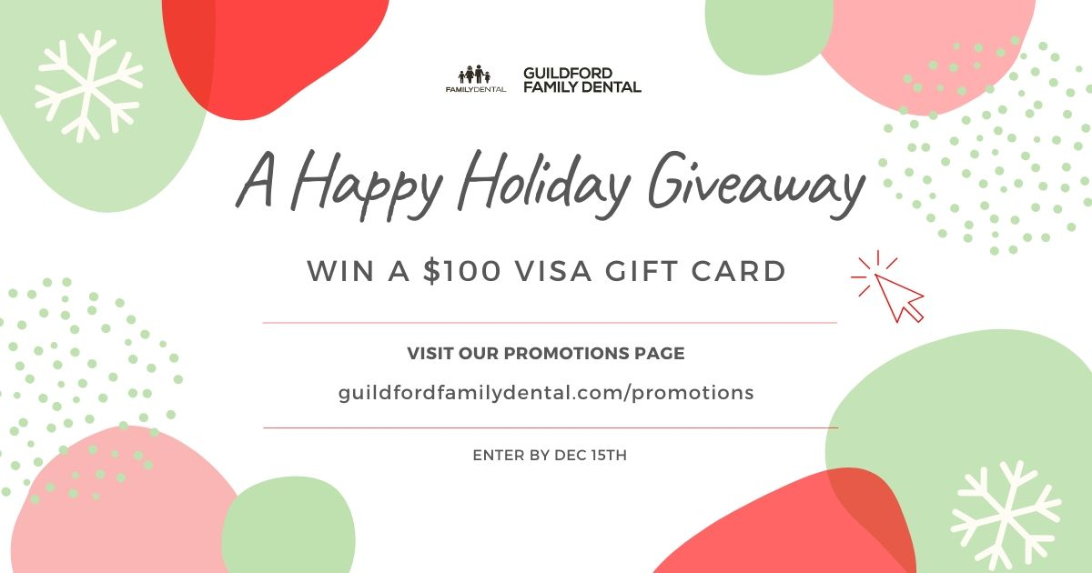 Guildford Family Dental Holiday Giveaway